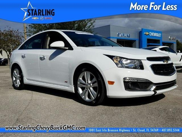 2015 chevrolet cruze ltz auto ltz auto 4dr sedan w 1sj for sale in saint cloud florida. Black Bedroom Furniture Sets. Home Design Ideas