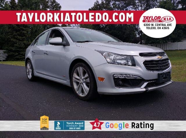 2015 chevrolet cruze ltz auto ltz auto 4dr sedan w 1sj for sale in toledo ohio classified. Black Bedroom Furniture Sets. Home Design Ideas