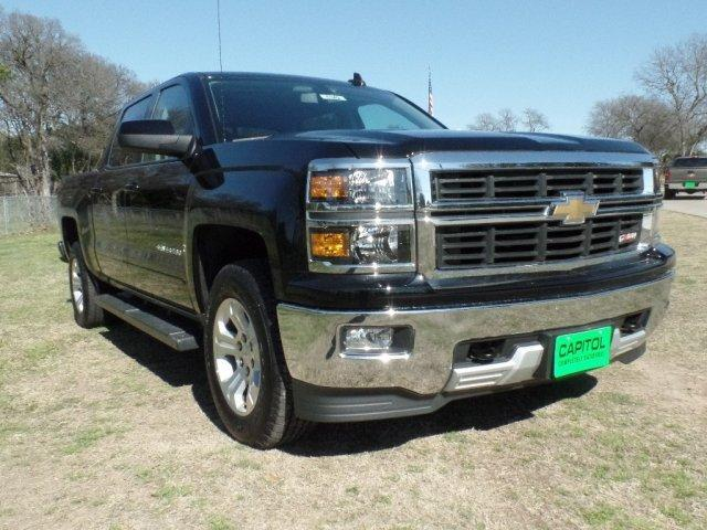 2015 chevrolet silverado 1500 4x4 lt 4dr crew cab 6 5 ft sb w z71 for sale in austin texas. Black Bedroom Furniture Sets. Home Design Ideas