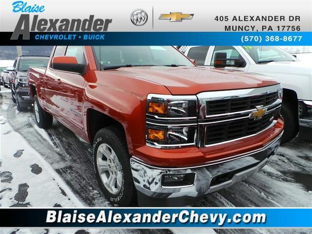 2015 Chevrolet Silverado 1500 4x4 Lt 4dr Double Cab 6 5 Ft