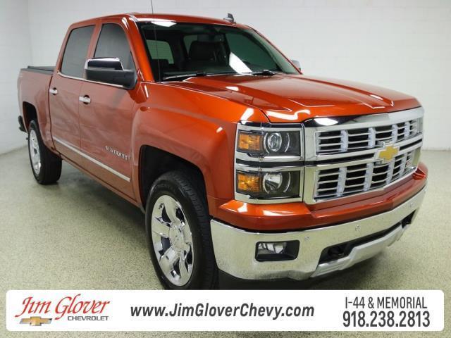 Jim Glover Tulsa >> 2015 Chevrolet Silverado 1500 LTZ 4x4 LTZ 4dr Crew Cab 5.8 ft. SB w/Z71 for Sale in Tulsa ...