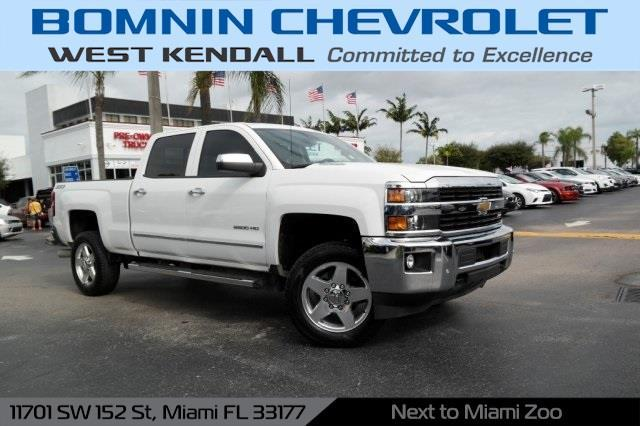 2015 chevrolet silverado 2500hd ltz 4x4 ltz 4dr crew cab sb for sale in miami florida. Black Bedroom Furniture Sets. Home Design Ideas