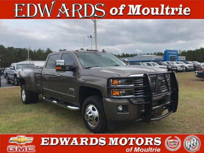 2015 Chevrolet Silverado 3500 4x4 Crew Cab High Country