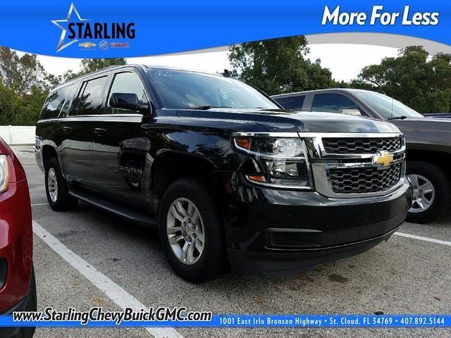 Starling Chevrolet Used Cars 2015 Chevrolet Suburban LT 1500 4x2 LT 1500 4dr SUV for ...
