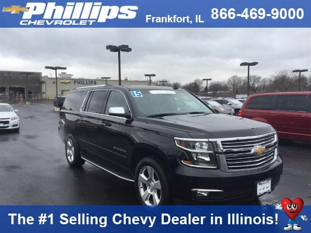 2015 chevrolet suburban ltz 1500 4x4 ltz 1500 4dr suv for sale in frankfort illinois classified. Black Bedroom Furniture Sets. Home Design Ideas
