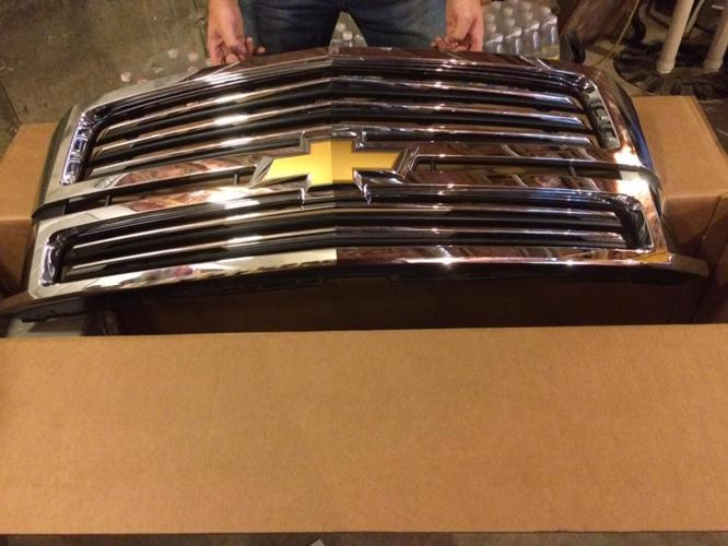 2015 Chevy Tahoe LTZ Chrome Grille