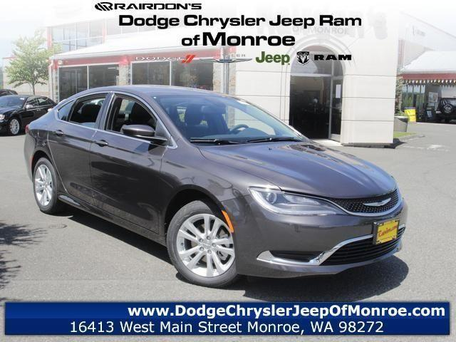 2015 chrysler 200 4d sedan limited for sale in monroe washington classified. Black Bedroom Furniture Sets. Home Design Ideas