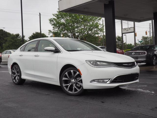 2015 Chrysler 200 C AWD C 4dr Sedan