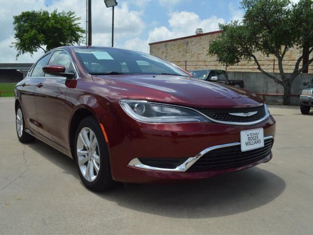 2015 chrysler 200 limited 4dr sedan limited for sale in weatherford texas classified. Black Bedroom Furniture Sets. Home Design Ideas