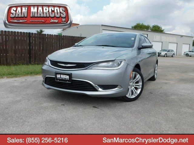 2015 chrysler 200 limited limited 4dr sedan for sale in san marcos texas classified. Black Bedroom Furniture Sets. Home Design Ideas