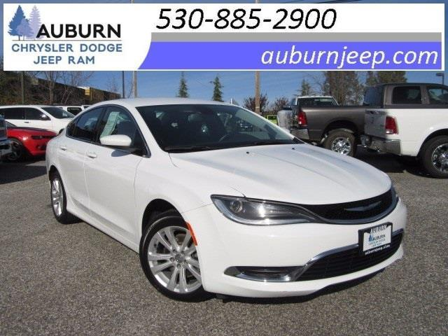 2015 chrysler 200 limited limited 4dr sedan for sale in auburn california classified. Black Bedroom Furniture Sets. Home Design Ideas