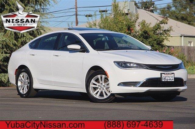 2015 chrysler 200 limited limited 4dr sedan for sale in yuba city california classified. Black Bedroom Furniture Sets. Home Design Ideas