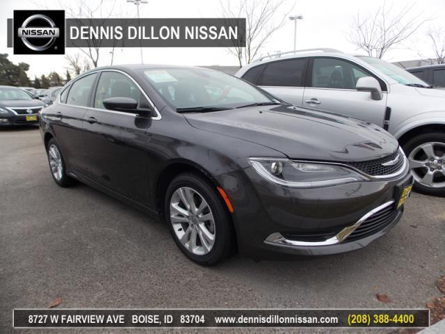 2015 chrysler 200 limited limited 4dr sedan for sale in boise idaho classified. Black Bedroom Furniture Sets. Home Design Ideas
