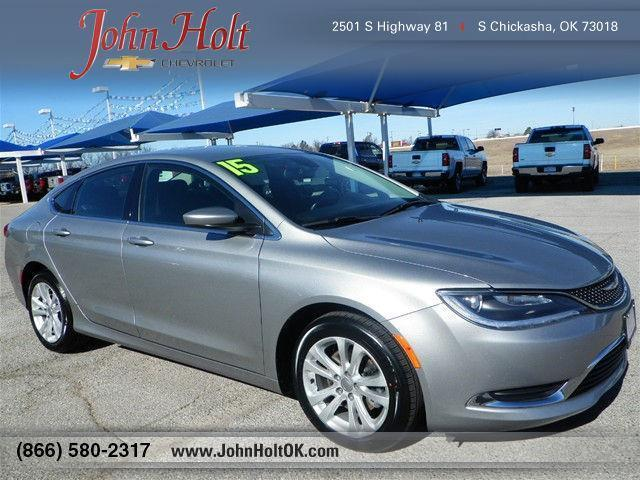 2015 chrysler 200 limited limited 4dr sedan for sale in chickasha oklahoma classified. Black Bedroom Furniture Sets. Home Design Ideas