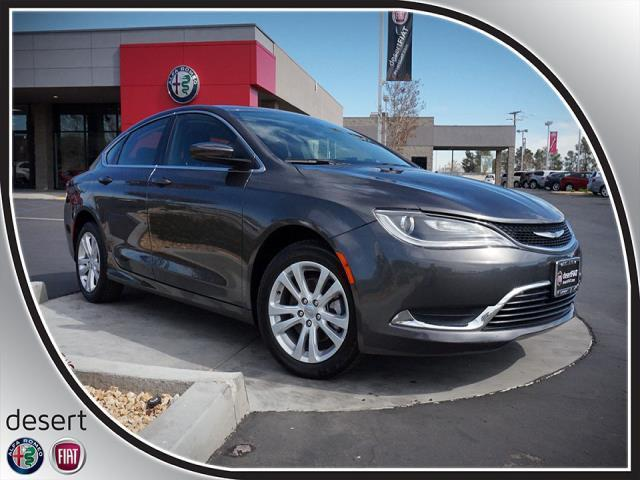 2015 chrysler 200 limited limited 4dr sedan for sale in victorville california classified. Black Bedroom Furniture Sets. Home Design Ideas