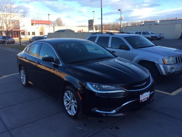 2015 chrysler 200 limited limited 4dr sedan for sale in billings montana classified. Black Bedroom Furniture Sets. Home Design Ideas