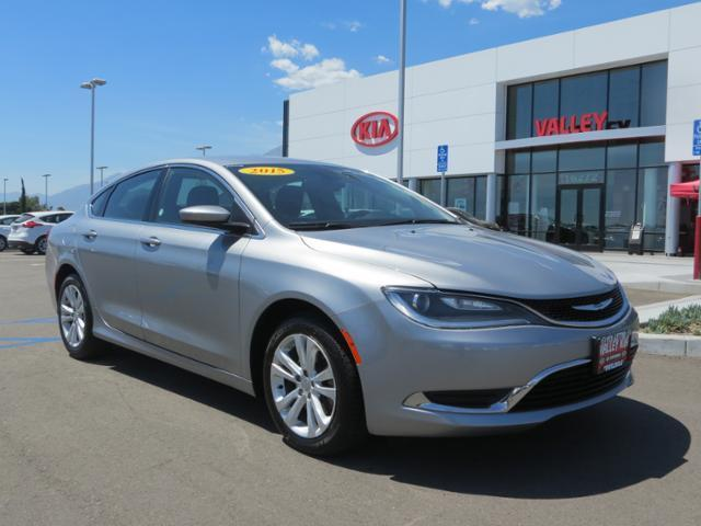 2015 chrysler 200 limited limited 4dr sedan for sale in fontana california classified. Black Bedroom Furniture Sets. Home Design Ideas