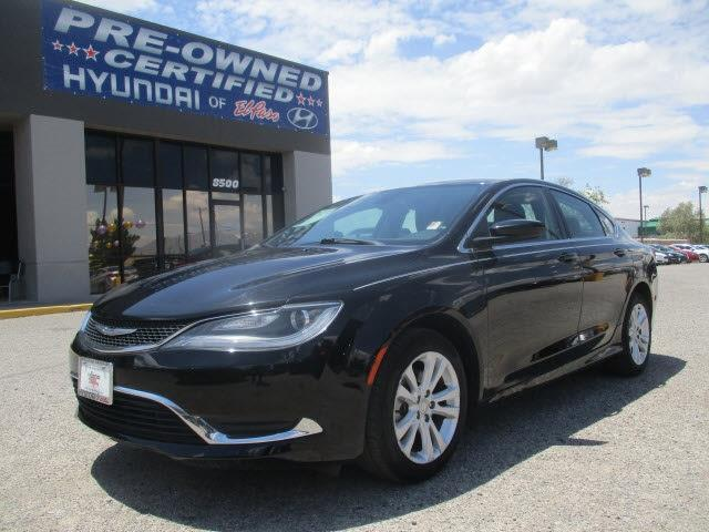 2015 chrysler 200 limited limited 4dr sedan for sale in el paso texas classified. Black Bedroom Furniture Sets. Home Design Ideas