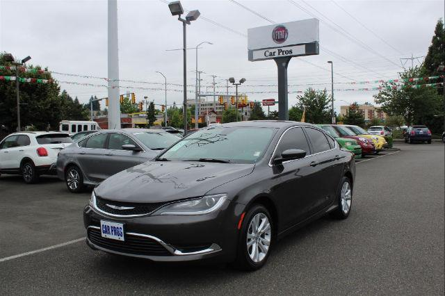 2015 chrysler 200 limited limited 4dr sedan for sale in renton washington classified. Black Bedroom Furniture Sets. Home Design Ideas