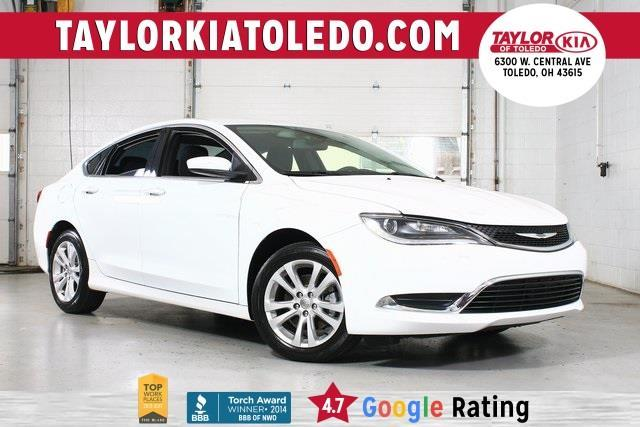 2015 chrysler 200 limited limited 4dr sedan for sale in toledo ohio classified. Black Bedroom Furniture Sets. Home Design Ideas