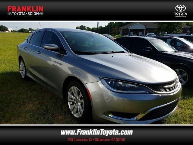 2015 chrysler 200 limited limited 4dr sedan for sale in statesboro georgia classified. Black Bedroom Furniture Sets. Home Design Ideas