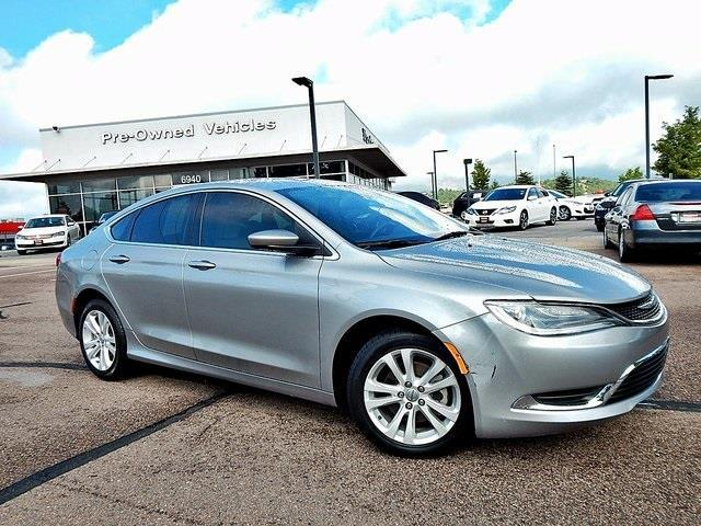 2015 chrysler 200 limited limited 4dr sedan for sale in colorado springs colorado classified. Black Bedroom Furniture Sets. Home Design Ideas