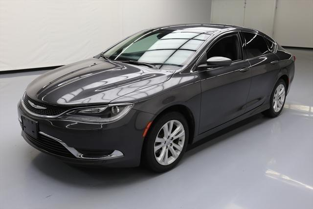 2015 chrysler 200 limited limited 4dr sedan for sale in houston texas classified. Black Bedroom Furniture Sets. Home Design Ideas