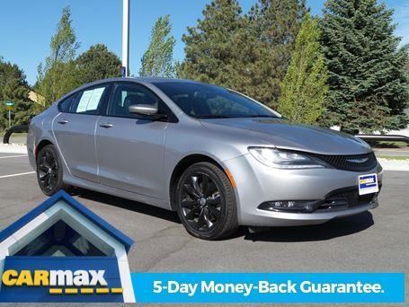 2015 chrysler 200 s awd s 4dr sedan for sale in meridian. Black Bedroom Furniture Sets. Home Design Ideas