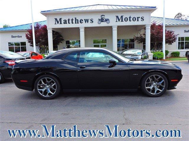2015 dodge challenger r t plus r t plus 2dr coupe for sale for Matthews motors goldsboro nc