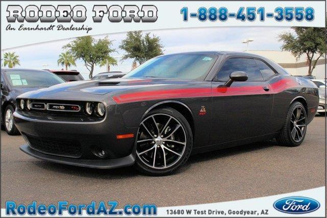 2015 dodge challenger r t scat pack r t scat pack 2dr coupe for sale in goodyear arizona. Black Bedroom Furniture Sets. Home Design Ideas