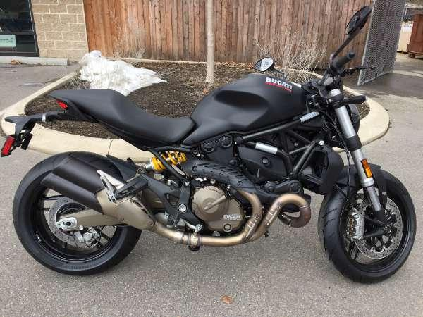2015 ducati monster 821 dark for sale in state college pennsylvania classified. Black Bedroom Furniture Sets. Home Design Ideas