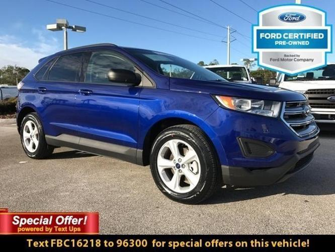 2015 Ford Edge SE SE 4dr Crossover