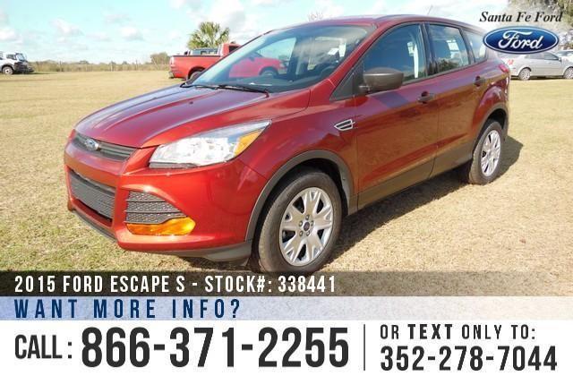 2015 Ford Escape S - Sticker $23,855.00 - YOUR PRICE