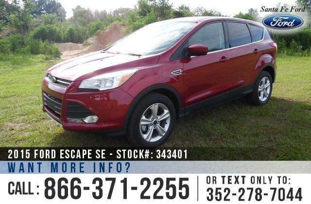 2015 Ford Escape SE - Window Sticker $26,450 - Save