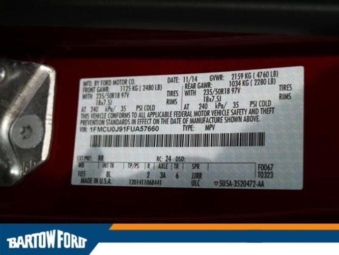 2015 Ford Escape Titanium Titanium 4dr SUV