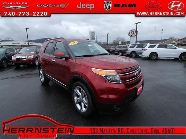 2015 ford explorer limited limited 4dr suv for sale in chillicothe ohio classified. Black Bedroom Furniture Sets. Home Design Ideas