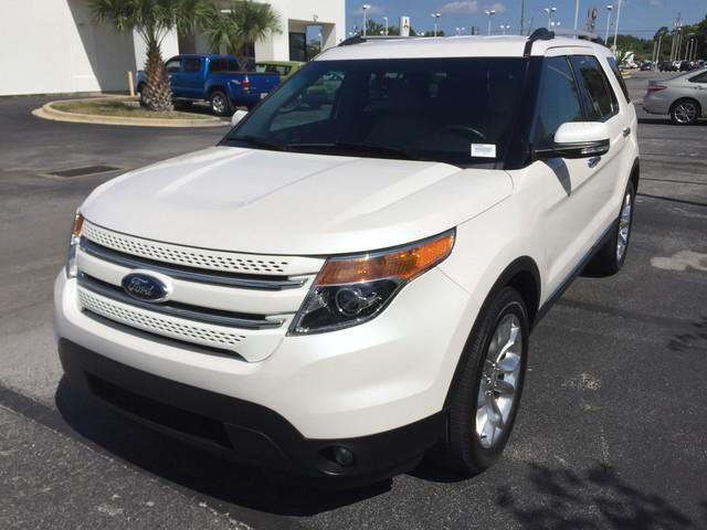 2015 Ford Explorer Limited Limited 4dr SUV