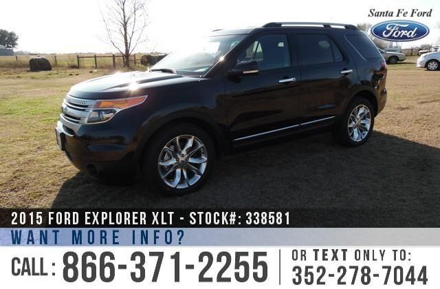 2015 Ford Explorer XLT - Window Sticker $38,650 - YOUR