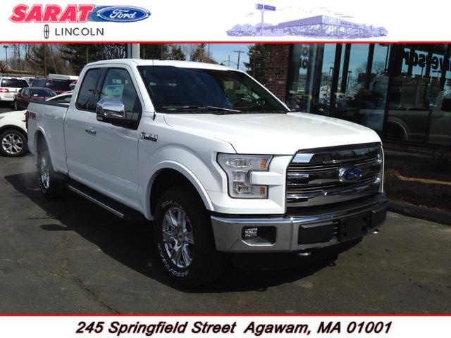 2015 ford f 150 4x4 xl 4dr supercab styleside 8 ft lb for sale in agawam massachusetts. Black Bedroom Furniture Sets. Home Design Ideas