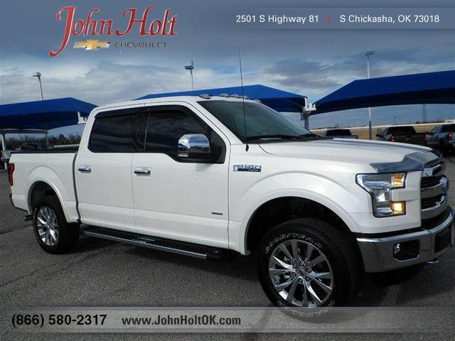 2015 ford f 150 king ranch 4x4 king ranch 4dr supercrew 5 5 ft sb for sale in chickasha. Black Bedroom Furniture Sets. Home Design Ideas