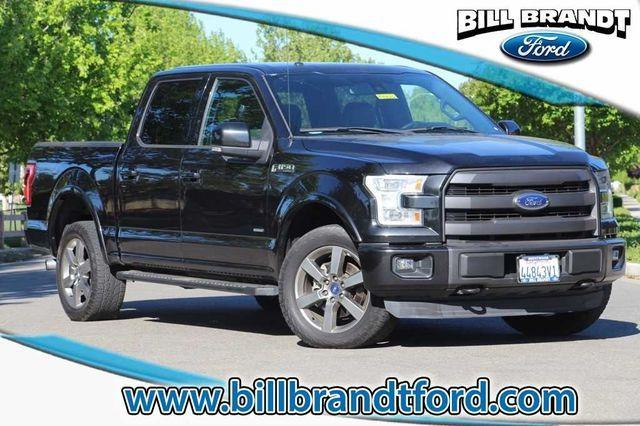 2015 ford f 150 lariat 4x4 lariat 4dr supercrew 5 5 ft sb for sale in brentwood california. Black Bedroom Furniture Sets. Home Design Ideas