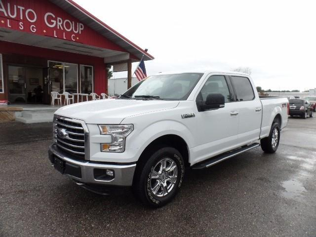 2015 Ford F-150 Platinum 4x4 Platinum 4dr SuperCrew 6.5