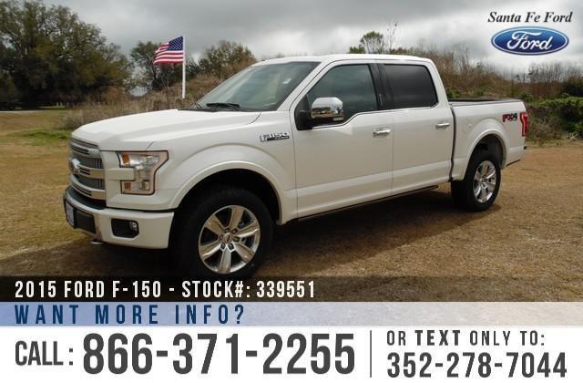 2015 Ford F-150 Platinum - Window Sticker $60,970- YOUR