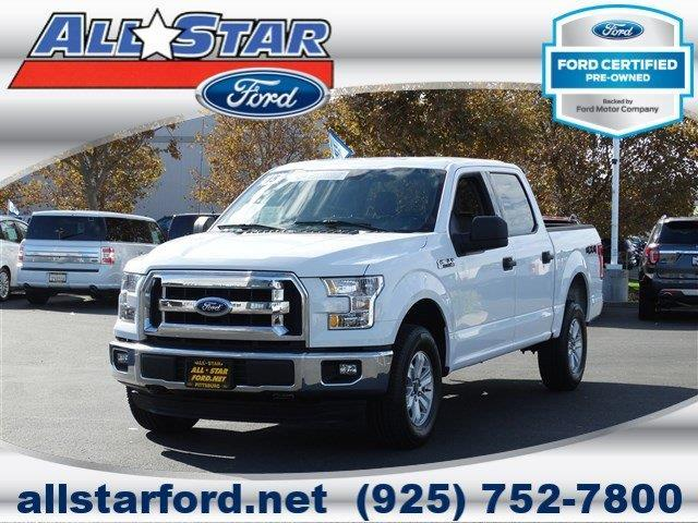 2015 ford f 150 xl 4x4 xl 4dr supercrew 5 5 ft sb for sale in bay point california classified. Black Bedroom Furniture Sets. Home Design Ideas