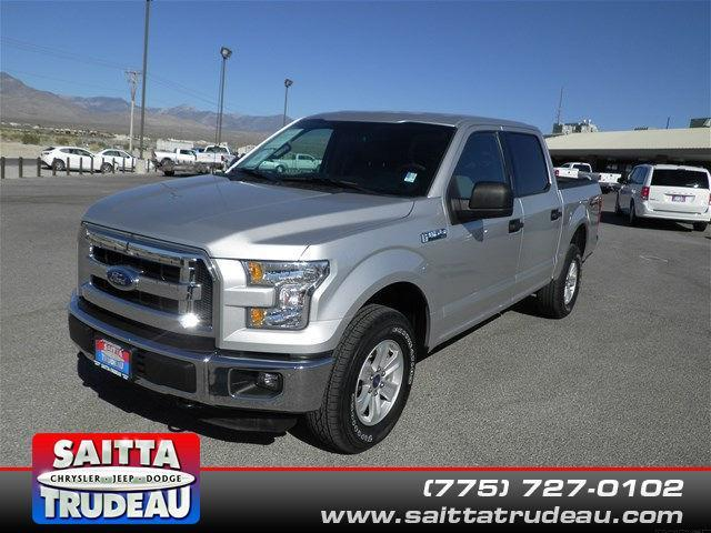 2015 Ford F-150 XLT 4x4 XLT 4dr SuperCrew 6.5 ft. SB