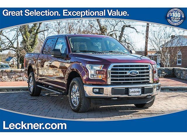 Leckner Ford Of Marshall >> 2015 Ford F 150 Xlt For Sale In Marshall Virginia