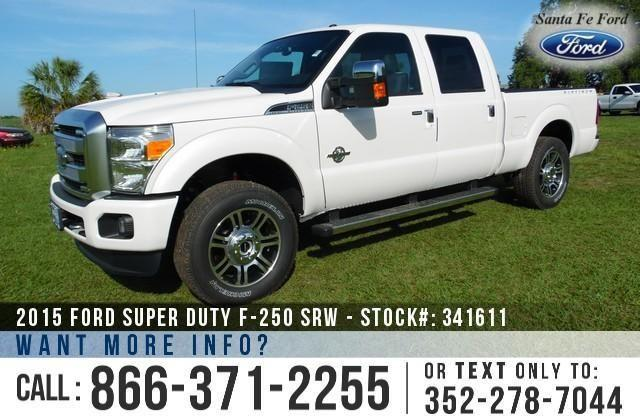 2015 Ford F-250 Platinum - Sticker $67,920 - YOUR PRICE