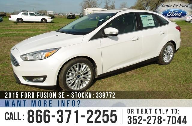 2015 Ford Focus Titanium - SAVE thousands on ALL New