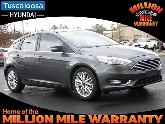 2015 Ford Focus Titanium Titanium 4dr Hatchback