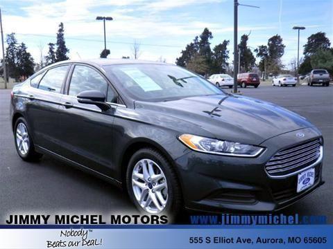 2015 ford fusion 4 door sedan for sale in aurora missouri for Jimmy michel motors aurora mo